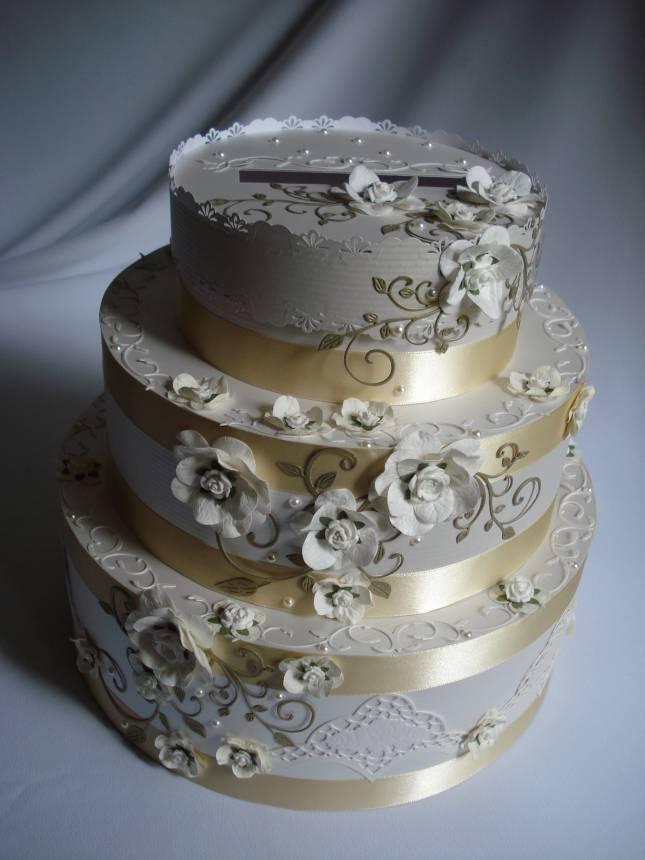 Казна для денег на свадьбу своими руками торт 68