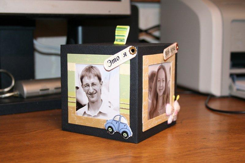 Как сделать коробку из фотографий 82