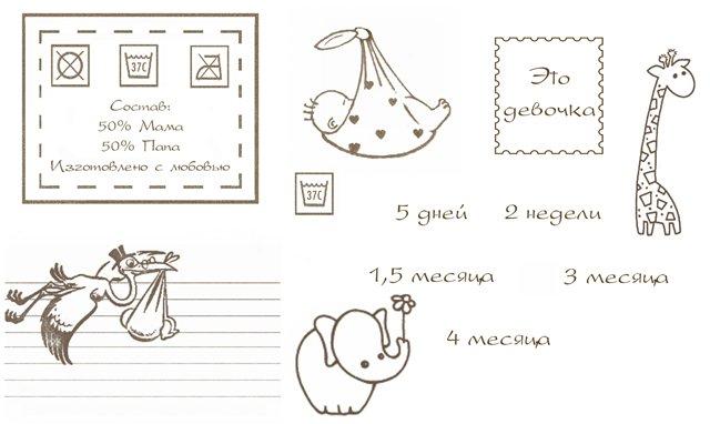 Детский альбом подписи к фотографиям в стихах
