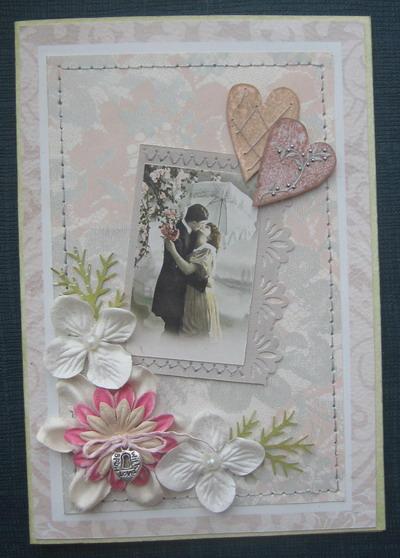 Как сделать открытки на годовщину свадьбы своими