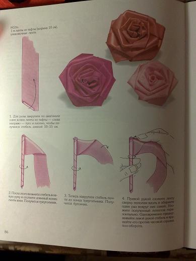как сделать цветы из ткани своими руками.