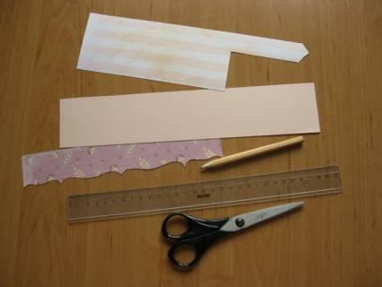 Как сделать уголок для фотографии из бумаги
