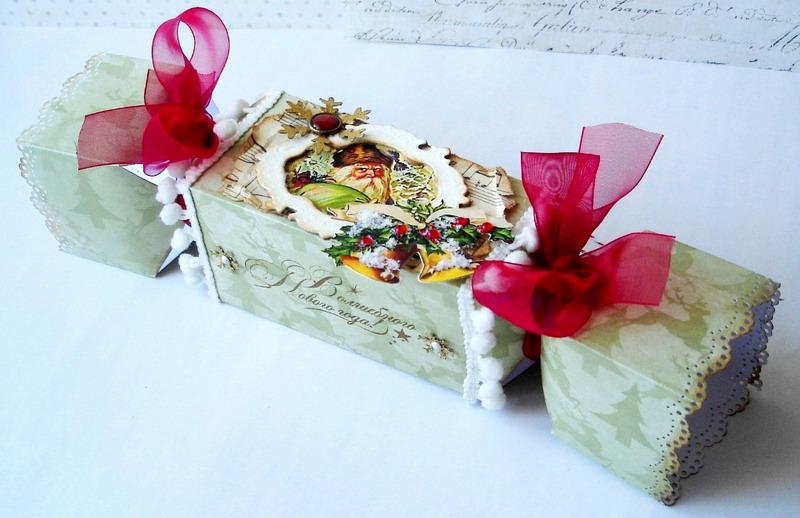 Оформляем коробку конфет своими руками